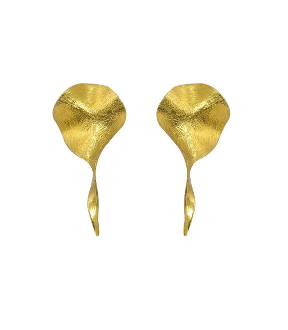 Σκουλαρίκια Τσαλακωτό